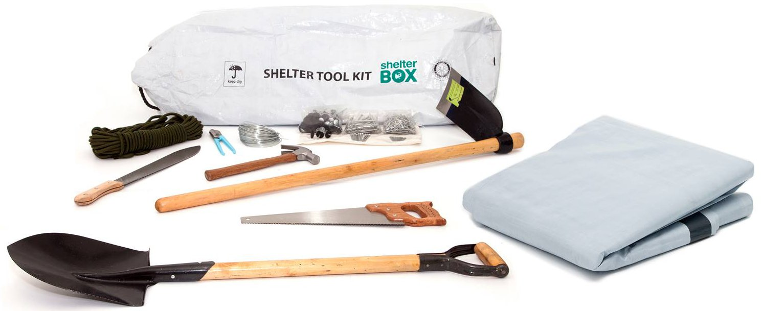 ShelterBox Kit contents