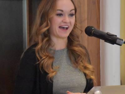Salve Global Scholar Sarah Markley