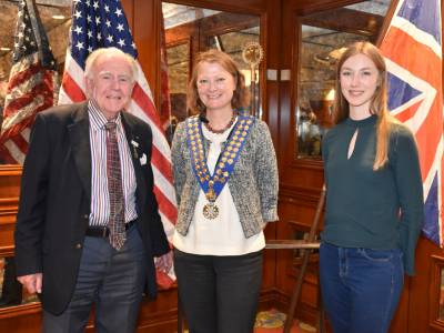 Welcome Rotary Scholar 2019/20