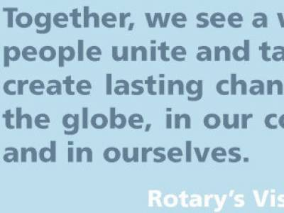 Happy Anniversary Rotary