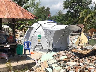 ShelterBox Indonesia Appeal Club Response