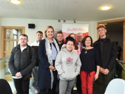 Club attend Amber Rudd's visit to YouthAction NI